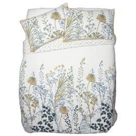 Argos Home Floral Crop Printed Bedding Set - Double