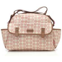 Babymel Molly Dot Changing Bag - Floral Pink