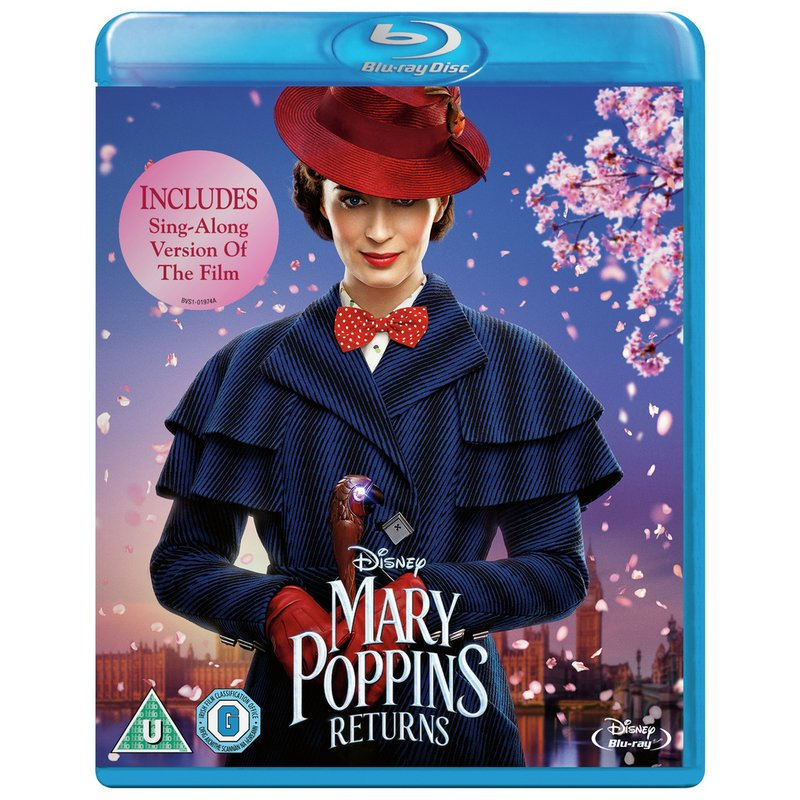 Mary Poppins Returns Blu-Ray from Argos