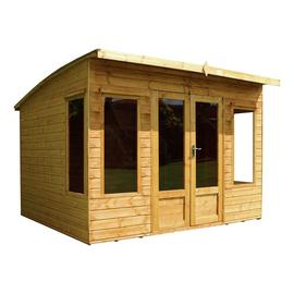 Mercia Wooden 10 x 9ft Premium Summerhouse