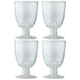 Argos Home Global Monochrome Bubble Goblet - 4 Pack