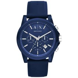 Armani Exchange Blue Dial Adjustable Strap Watch