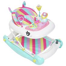 Mychild Rainbow Unicorn 2 in 1 Walker - Pink