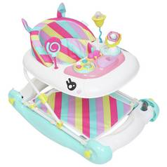 MyChild Unicorn Baby Walker Rocker - Pink