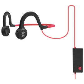 Aftershokz Sportz Titanium Open-Ear Headphones-Red