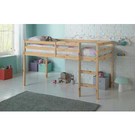 Argos Home Kaycie Pine Shorty Mid Sleeper & Kids Mattress