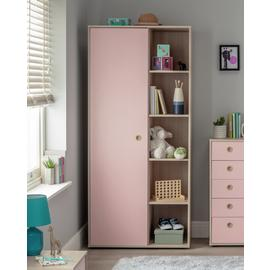 Argos Home Camden 1 Door Shelf Wardrobe