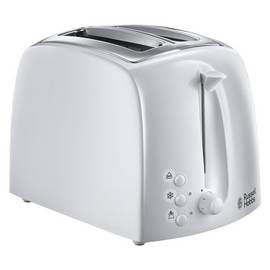 Russell Hobbs 21640 Textures 2 Slice Toaster - White