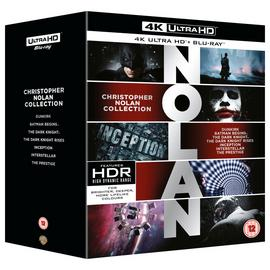 Christopher Nolan Collection 4K UHD Blu-Ray Box Set
