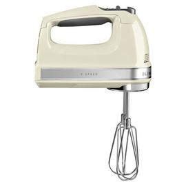 KitchenAid 5KHM9212BAC Electric Hand Mixer - Almond