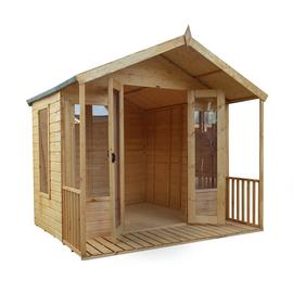 Mercia Wooden 8 x 8ft Premium Sussex Summerhouse