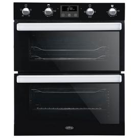 Belling BI702FPCT Built In Double Electric Oven - Black