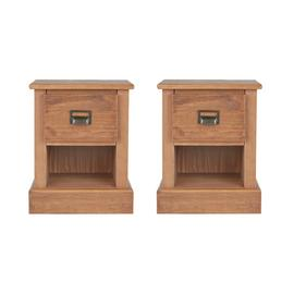 Argos Home Drury 2 Bedside Tables Set