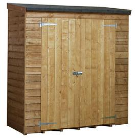 Mercia Wooden 6 x 3ft Overlap Pent Storage Unit