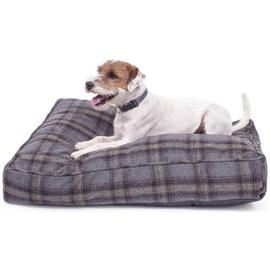 Petface Grey Tweed Mattress Pet Bed - Medium