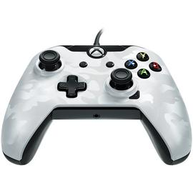 Licensed Xbox One Controller with Back Paddle - White Camo