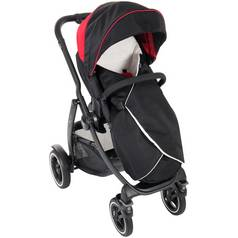 Graco Evo XT Pushchair – Black/Red