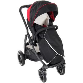 Graco Evo XT Pushchair - Black & Red