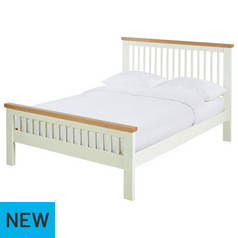 Argos Home Aubrey Two Tone Superking Bed Frame
