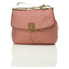 Babymel Satchel Changing Bag - Red Stripe