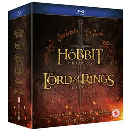 The Middle Earth Collection Blu-Ray Box Set