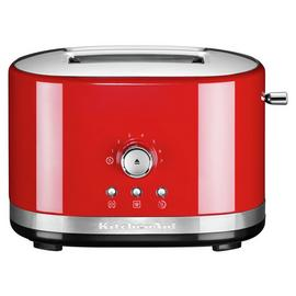 KitchenAid Manual Control 2 Slice Toaster - Empire Red