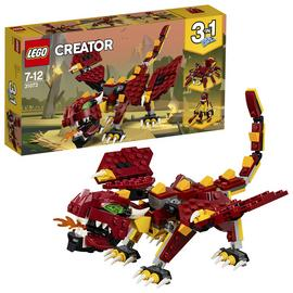 LEGO Creator Mythical Creatures Dragon Toy Set - 31073