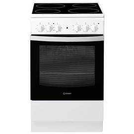 Indesit IS5V4KHW Single Electric Oven - White