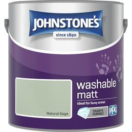 Johnstone's Washable Paint 2.5L - Natural Sage