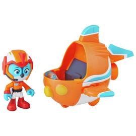 Top Wing Swift Figure and Vehicle Playset