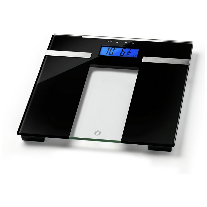 Weight Watchers Ultra Slim Body Analyser Scale - Glass from Argos