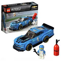 LEGO Speed Champions Chevrolet CamaroZL1 Race Toy Car -75891