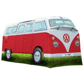 VW Camper Van 4 Man 2 Room Tunnel Camping Tent