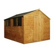 more details on Mercia Wooden 10 x 8ft Shiplap Shed