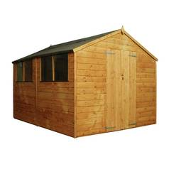 Mercia Wooden 10 x 8ft Shiplap Shed Best Price, Cheapest Prices