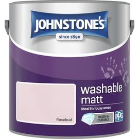 Johnstone's Washable Rosebud Paint - 2.5L
