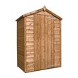 more details on Mercia Wooden 4 x 3ft Shiplap Windowless Shed