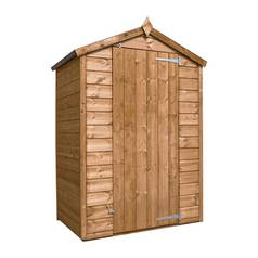 Mercia Wooden 4 x 3ft Shiplap Windowless Shed