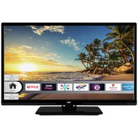 Bush 24 Inch Smart HD Ready TV / DVD Combi - Black