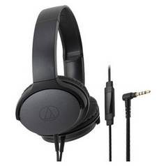 Audio Technica ATH-AR1iS On-Ear Headphones - Black