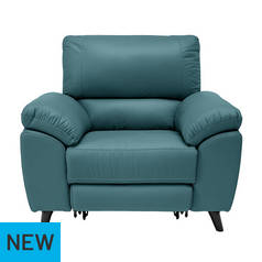 Argos Home Elliot Power Recliner Chair - Teal