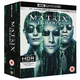 The Matrix Trilogy 4K UHD Blu-Ray Box Set