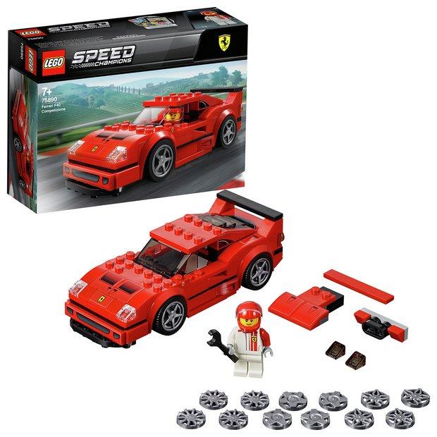 Buy Lego Speed Champions Ferrari F40 Toy Car Model 75890 Lego Argos