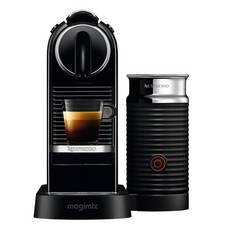 Magimix Nespresso Citiz Pod Coffee Machine & Milk - Black