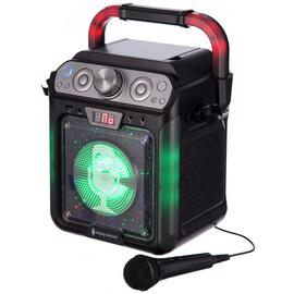 Singing Machine Karaoke with Bluetooth Lights