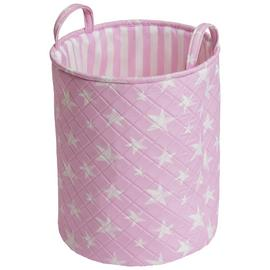 Argos Home Star Laundry Bag - Pink