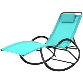 Vivere Wave Laze Chair - Turquise