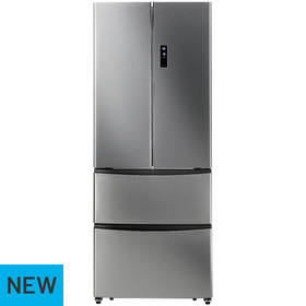Hoover HMN7182XK American Fridge Freezer - Stainless Steel