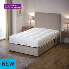 Regal Double Electric Bed with Pocket Sprung Mattress