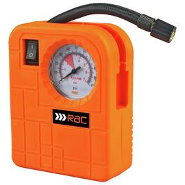 RAC Compact Tyre Inflator - 12V